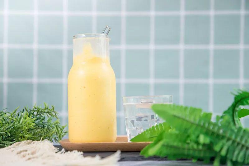 干了这杯燕窝芒果汁,邂逅一个甜蜜的夏天